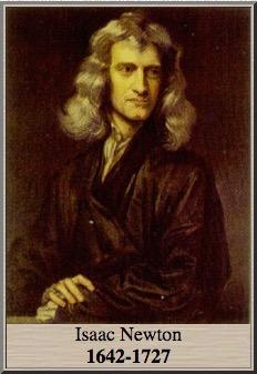 Les lois de Newton, Isaac Newton (1642-1727)