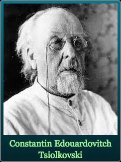 Constantin Edouardovitch Tsiolkovski (1857 - 1935) Auteur de la formule de Tsiolkovski si précieuse en astronautique