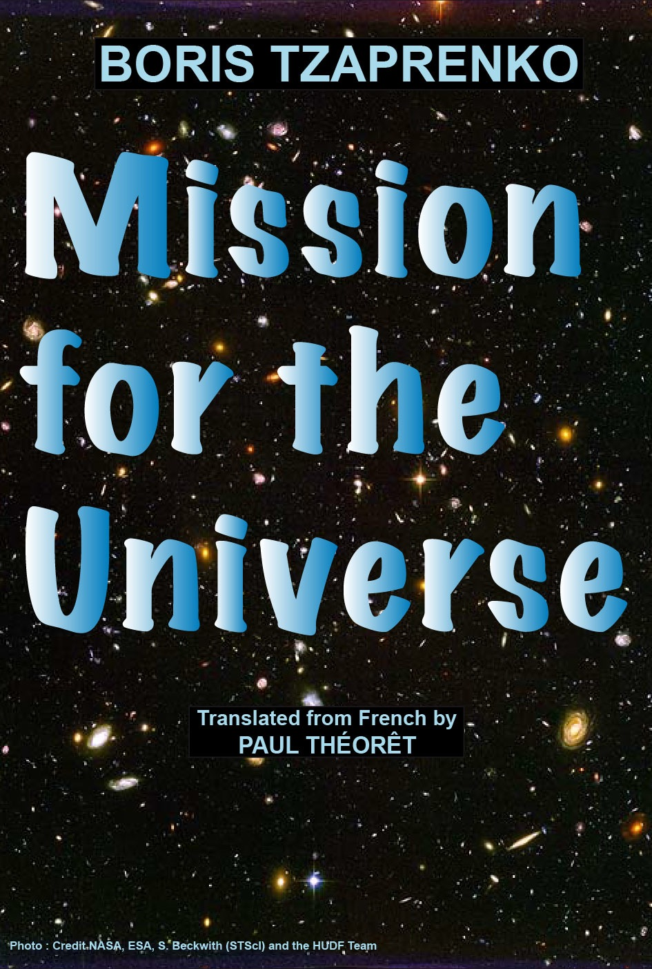 Couverture Mission for the Universe