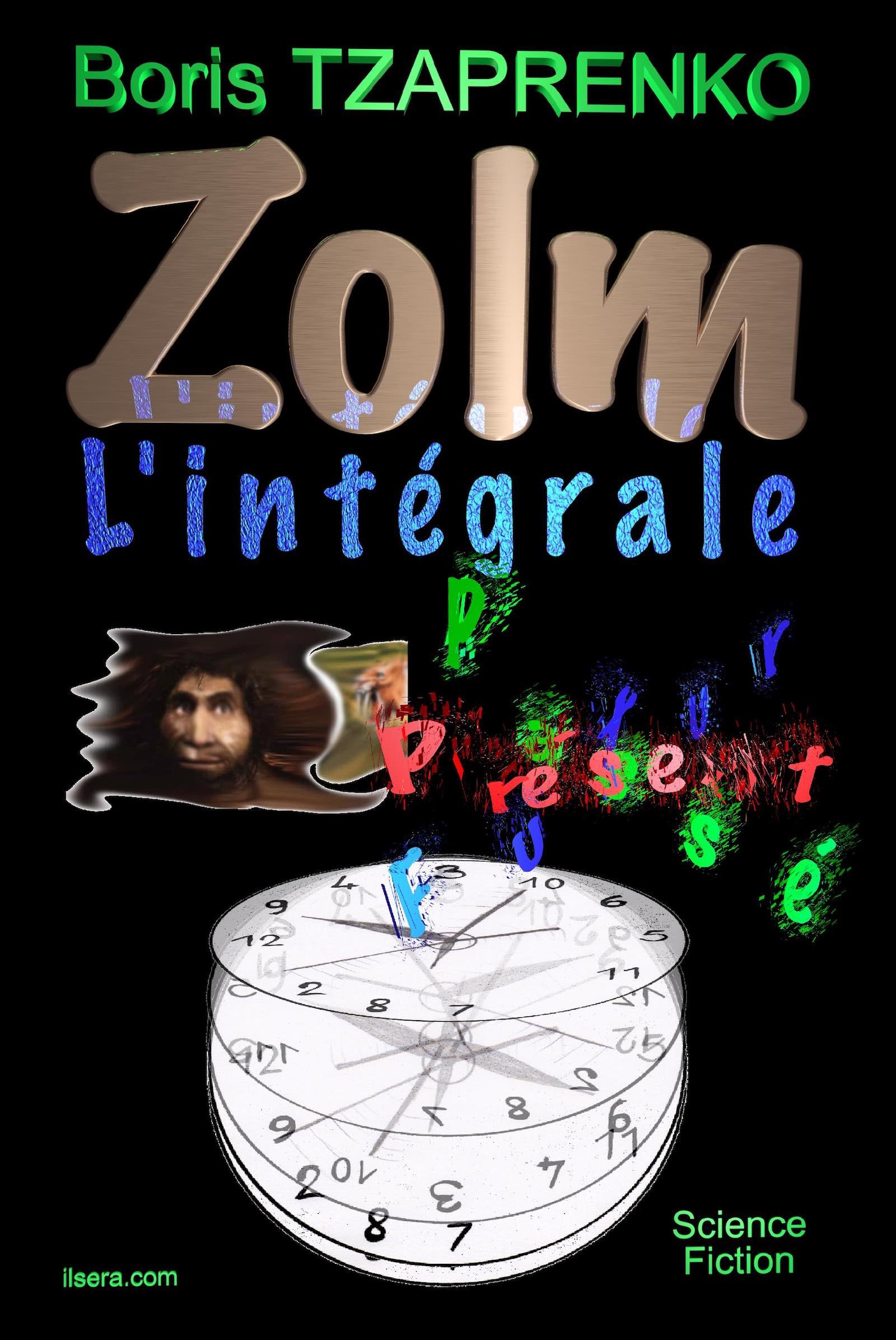 Couverture Zolm L'intégrale