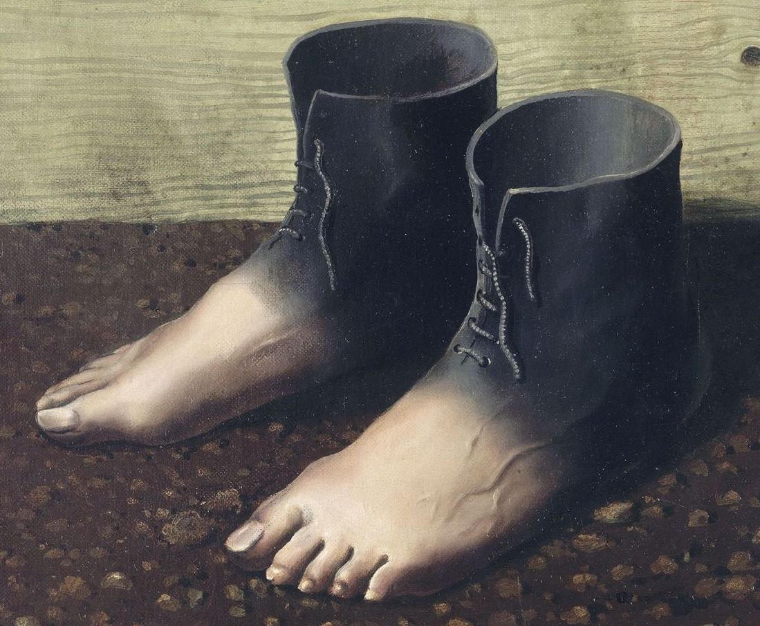 René Magritte. Le modèle_rouge