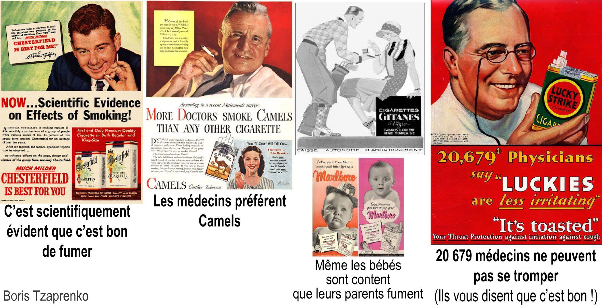 Publicité cigarettes